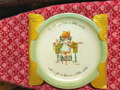 NEW!!! Vintage Holly Hobbie collectors plate by American Greetings 1970s