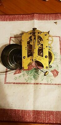 Antique Ansonia clock movement, spair and repairs!