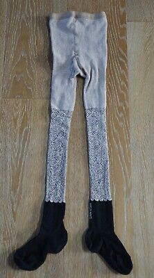 Eliane et Lena Girls Tights Size 6-8 GUC Made in France
