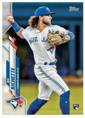 Bo Bichette RC 2020 Topps Series 1 - First EVER Rookie Card #78 Blue Jays 🔥🔥🔥