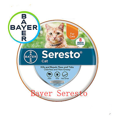 Bayer Seresto flea and tick collar for Cats & Kittens Home protect Free Shipping
