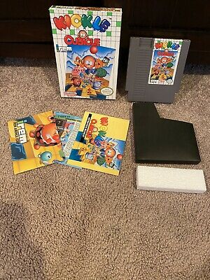 Kickle Cubicle Nes Nintendo Complete With Poster