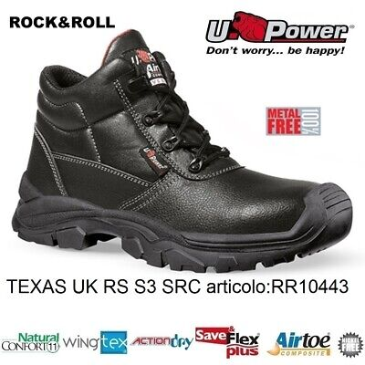SCARPE ANTINFORTUNISTICHE U Power Latitude rs S3 SRC lavoro