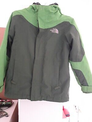 The North Face Hyvent ski boys girls winter jacket - 7-8 years old fleece lined