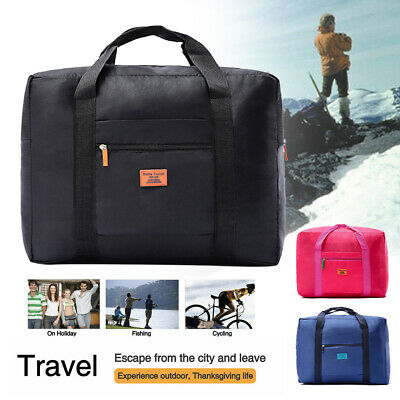 Portable Waterpoof Foldable Travel Luggage Baggage Storage Suitcase Duffle Bag