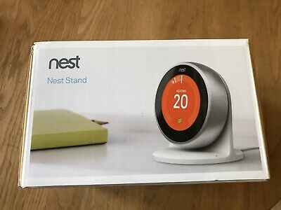 Nest thermostat 3rd generation stand. Stand only. Not thermostat.