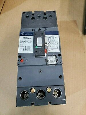GE Spectra RMS SFHA36AT0250 Circuit Breaker 250 Amp 3 Pole 600 V With 150  Trip