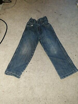 Boys Blue Jeans Age 2-3 Years From Matalan