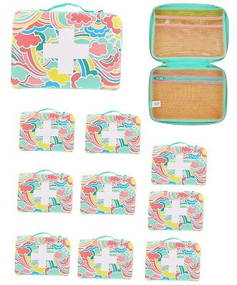 Wholesale Lot of 10  Build Your Own First Aid Kit Bag Band-Aid Brand