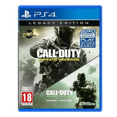 Call Of Duty Infinite Warfare Legacy Edition Ps4 Italiano Nuovo Sigillato