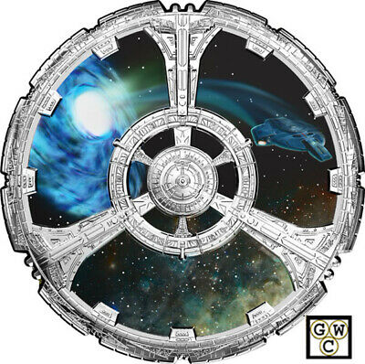 2018 'Star Trek(TM) ; Deep Space Nine' Color Prf $20 Fine Silver Coin(18539)OOAK