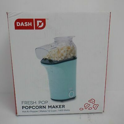 Dash Fresh Popcorn Maker, Aqua