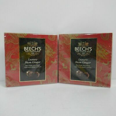 Beech's Dark Chocolate Ginger 100 g Pack of 2                   **BB4 FEB 2020**