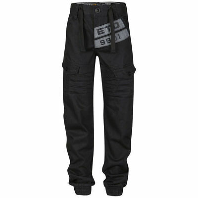 Boys grey cuffed jogger style jeans from Eto age 9-10 years new with tags