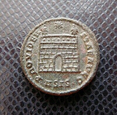 Roman Empire - Imperial / Ancient Bronze Coin / 11.