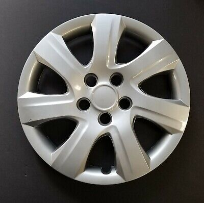 """One Wheel Cover Hubcap Fits 2010-2011 Toyota Camry 16"""" Silver 7 Spoke"""