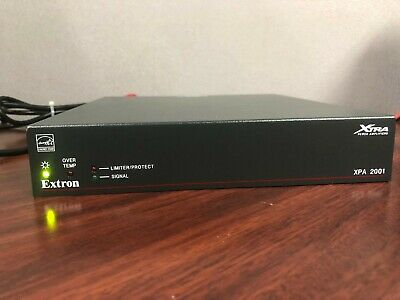 Extron XPA 2001 70V Mono Amplifier with Power Supply
