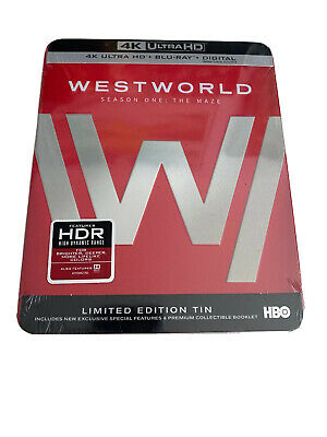 Westworld: The Complete First Season (4K Ultra HD Blu-ray, 2017, 4K Ultra HD...