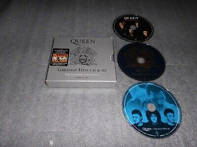 Queen ' Platinum Collection..Greatest Hits I II III ' Three CD Set Parlophone