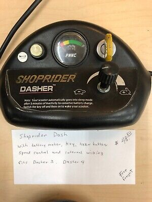 Shoptider Dasher Control Panel Dash