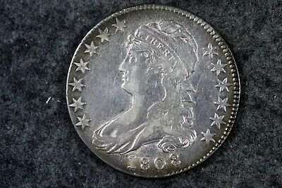 Estate Find 1808 - Capped Bust Half Dollar!!  #H6791