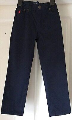 Polo Ralph Lauren Trousers, Dark Blue, Adjustable Waist - Size 4/4T, 3-4 Years