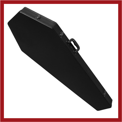 COFFIN CASES Model B195R Bass Guitar Case Red Interior