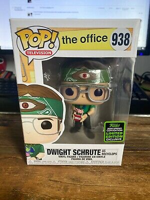 Funko Pop! The Office Dwight Schrute ECCC Shared Exclusive Preorder Recycolps