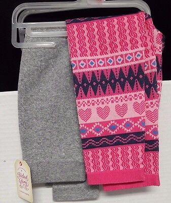 Back To School A Set Of two Girls Leggings  Size Small (4- 6 X)