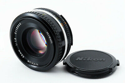 【EXC+++++】Nikon Nikkor Ai-s 50mm f/1.8 AIS Pancake MF Lens From Japan #455