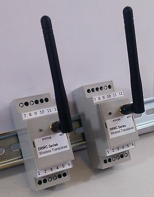 Industrial Wireless Remote Control - 1 Switch Transmitter with 3 Relay Receivers