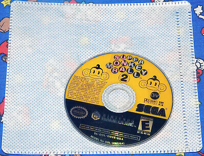 Super Monkey Ball 2 Nintendo GameCube 2002 Game Disc Only Free Shipping Works