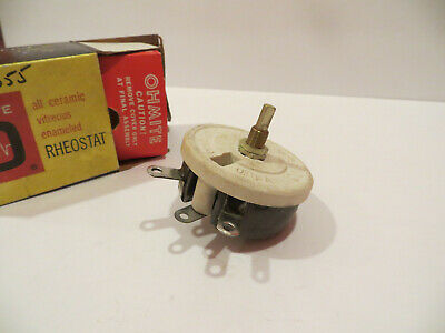 OHMITE 1112 Model G 200 Ohm 75 Watt Rheostat