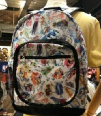 Disney Parks INK  and PAINT Collection Adult Backpack.