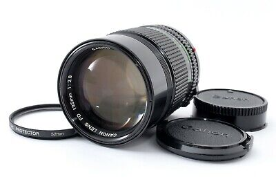 [Excellent+++] Canon New FD NFD 135mm f/2.8 MF Lens from Japan #870