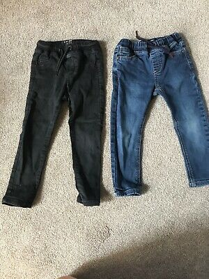 2 x Pairs Of Boys Jeans from Next age 2-3 years. Bundle.