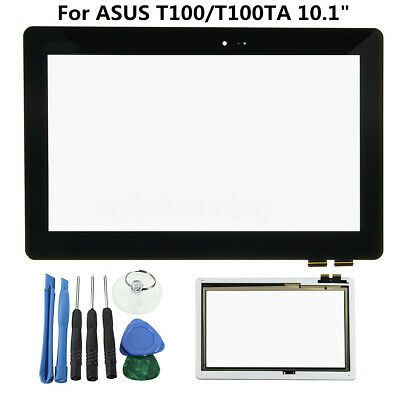 Touch Screen Digitizer Glass + Home Key For Asus Transformer Book T100 T100TA