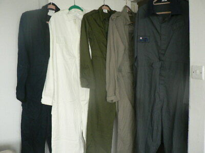 GREEN POLY-COTTON COVERALLS,BOILER SUIT,OVERALLS-MECHANIC MOD army supply