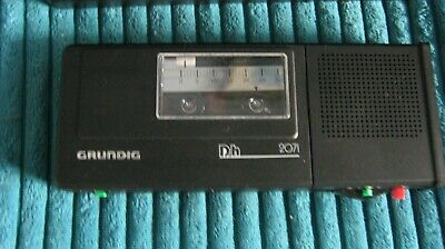 GRUNDIG DH2071 Hand held dictation machine Outstanding condition GWO