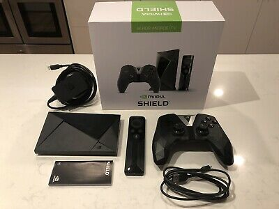 NVIDIA SHIELD TV 16GB Android Media Streamer With Gamer Controller  - 4K HDR