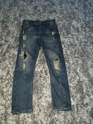 River Island 7 Years Old Boys Ripped Jeans