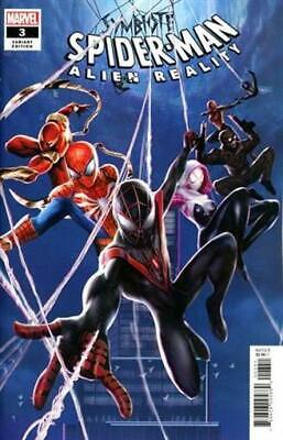 Symbiote Spider-Man Alien Reality #3 Jie Yuan Connectiant Marvel Comics Nm