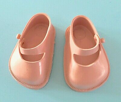 Vintage 1950/'s Pink Doll Shoes for Ideal Toni P91