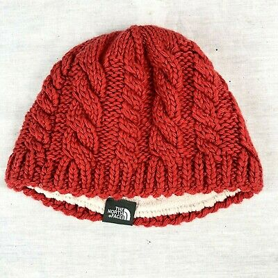 TNF The North Face W Chunky Knit Beanie Women/'s Hat Choose Color OS NWT $35