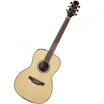 Takamine GY93E New Yorker Parlor Acoustic/Electric Guitar - Natural