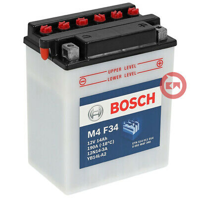 Batteria Bosch M4 F34 Yb14L-A2 Triumph Speed Triple (T509) 885 1997-1999