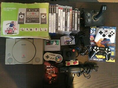 Lot Console Jeux Nintendo PlayStation Sega