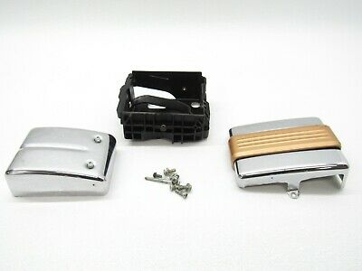 2008 08 Harley Davidson Dyna Low Rider OEM Battery Box Tray Holder w/ Side Cover