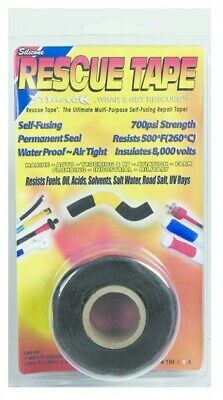 Rescue Tape RT1000201201USCO Black Clamshell