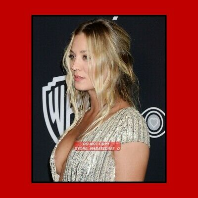 Kc078 Kaley Cuoco The Big Bang Theory Television Actress Sexy Pin Up 8X10 Photo